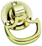 Solid Polished Brass Cupboard / Drawer Drop handle (PB162)