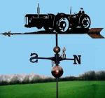 Doe Triple D Tractor Weathervane - Handmade  - Very High Quality