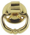 Solid Polished Brass Cupboard / Drawer Drop handle (PB161A)