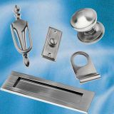 Pewter Chrome Door & Window Fittings