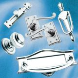 Satin Chrome Door & Window Fittings