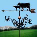 Cow & Calf Traditional Weathervane