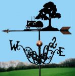Fordson N & Tree Traditional Weathervane
