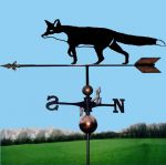 Prowling Fox Orbital Weathervane