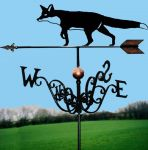 Prowling Fox Traditional Weathervane