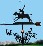 Chucka / Polo Player Traditional Weathervane