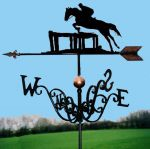 Clear Round Traditional Weathervane