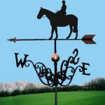 Riding Out Traditional Weathervane