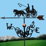 Coach & Two Traditional Weathervane