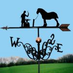 The Farrier Traditional Weathervane