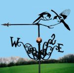 Two for Joy / Magpie Traditional Weathervane