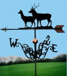 Exmoor Pride Traditional Weathervane