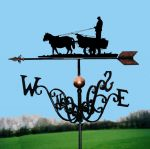 The Hay Wain Traditional Weathervane