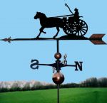 Lady Driver Orbital Weathervane