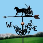 Lady Driver Traditional Weathervane