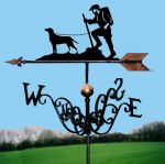 The Rambler and Friend Traditional Weathervane