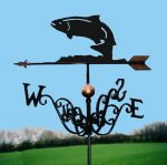 Leaping Salmon Traditional Weathervane