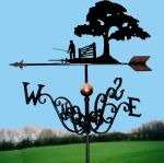 Gone Fishing Traditional Weathervane