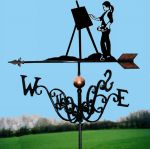 The Artist Traditional Weathervane