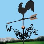 Rooster / Cockerel Traditional Weathervane
