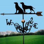Two Labs Traditional Weathervane